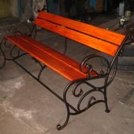 Кованые скамейки Пинск