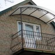 Кованые балконы в Пинске