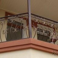 Кованый балкон в Пинске