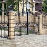 Кованые ворота в Пинске