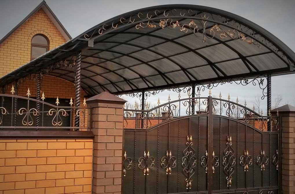 Ворота и навесы